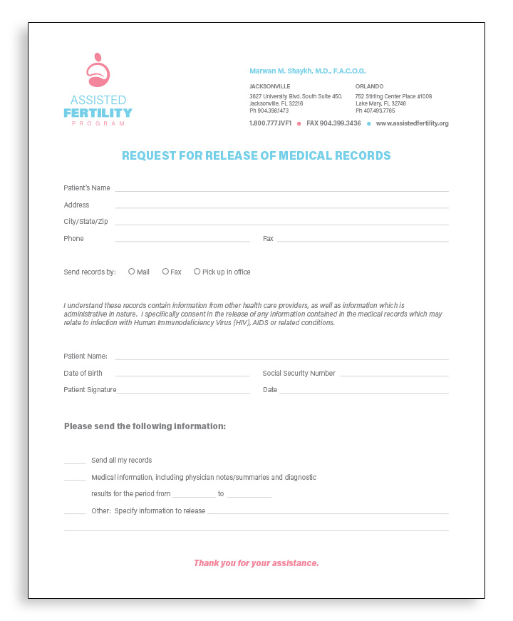 MEDICAL-RECORDS_RELEASE_General_Outgoing